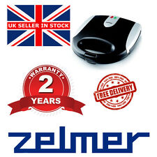 # NEW Electric Kitchen ZELMER ZSM2001X 800W SANDWICH TOASTER EASY CLEAN#