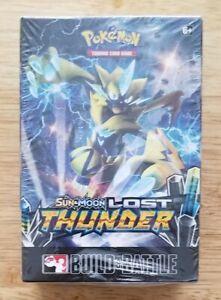 Pokemon Lost Thunder Build and Battle box still factory sealed