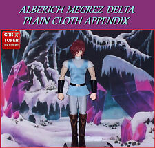 ALBERICH MEGREZ DELTA PLAIN CLOTH APPENDIX,SAINT SEIYA MYTH CLOTH TENUE CIVILE