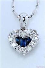 White Gold Love Hearts Fine Necklaces & Pendants