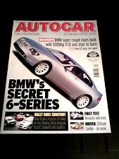 AUTOCAR MAGAZINE 23-JAN-02 - Murcielago, Range Rover Vogue, Renault Vel Satis V6