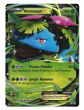 Venusaur EX Ultra Rare Holo Pokemon Card XY Black Star Promo XY28