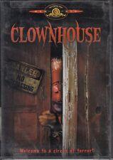 CLOWNHOUSE  horror *DVD NEW RECALLED* clown  SAM ROCKWELL cult 80's RARE