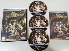 KINGS OF ADVENTURE HOLLYWOOD MONSTERS 1 + 2 - 7 X JUEGO PC 3 X DVD-ROM