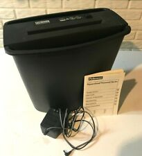 Fellowes Powershred PS 30 Straight-Cut with Bin, Power Supply & Manual