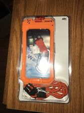 New Dri Cat 3 in 1 Retention Waterproof Kit Orange for iPhone 4 & 4s