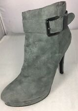 2 Lips Too New Women Short Boots Size 11 M Gray Color