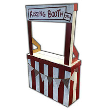 KISSING BOOTH Carnival Attraction CARDBOARD STRUCTURE Easy to Assemble FREE SHIP