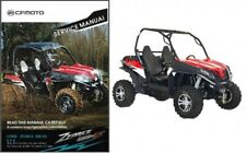 CFMoto ZForce 800 EX ( CF800 ) 4X4 UTV Service Manual on a CD