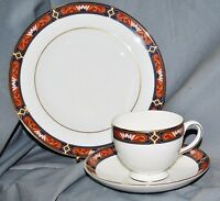 Coffee Porcelain, Cup Ut Plate, Wedgwood, Bone China, Chippendale