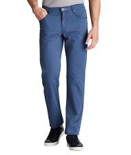Men's BRAX COOPER FANCY FIVE POCKET PANTS Prestige Stretch Cotton  47/34 BLUE