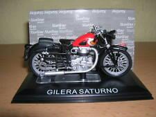 Starline Gilera Saturno rojo negro 1:24 Moto Moto