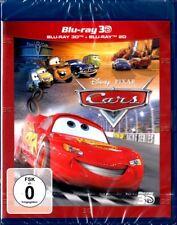 CARS (Walt Disney, Pixar) Blu-ray 3D + Blu-ray Disc NEU+OVP