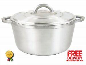 Sq Proessional Aluminium Dutch Pot Stew Heavy Duty Casserole 28cm