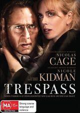 Trespass DVD Movie BRAND NEW SEALED Nicolas Cage Nicole Kidman