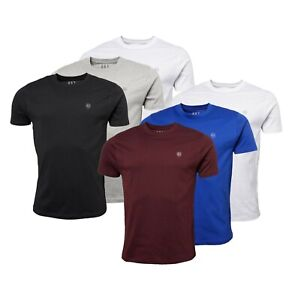 3 Pack Mens 883 Police Casual Short Sleeve Jersey T Shirts Sizes from S to XXL