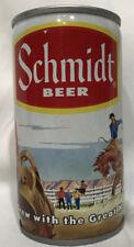 SCHMIDT Scenic Beer Flat Top Can, Cowboy, Vanity, Pfeiffer Brewing, St Paul MN