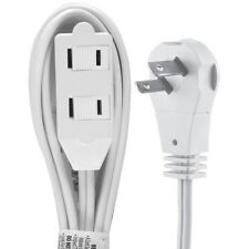 GE 50360 Wall Hugger Extension Cord/Power Cable (6 ft), UL listed