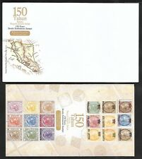2017 MALAYSIA FDC - 150 YEARS OF STRAITS SETTLEMENTS STAMP