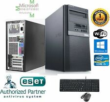 Dell Gaming TOWER PC i5 2500 Quad 3.3GHz 16GB 500GB SSD Windows 10 Pro 64 FX 380