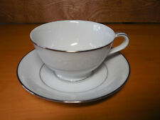 Noritake Fine China BUCKINGHAM 6438 Set of 9 Footer Cup & Saucer Sets 18 pcs