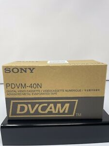 Box of 10 New Sony DVCAM PDV-40N  Video Cassette
