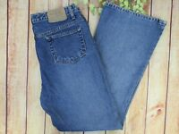 American Eagle Outfitters Button Fly Boot Cut Blue Jeans Women's Size 12