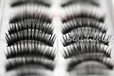 10 x PAIO DI FALSE FINTE LUNGO CIGLIA CIGLIA Make-Up spesse UK #02