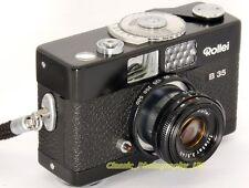 Rollei B35 35mm Pocket Cinema Camera + Zeiss Triotar 3.5 / 40mm LENS-completamente funzionante