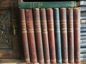 1885 Sir Walter Scott 8 illustrated Novels Nimmo Hay Mitchell Edinburgh