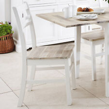 FLORENCE Country style white wooden chair quality farmhouse kitchen dining chair