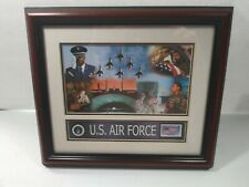 Framed USPS USAF Commemorative Stamp