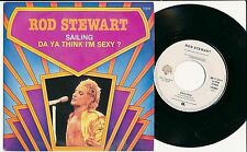 "ROD STEWART 45 TOURS 7"" BELGIUM SAILING"