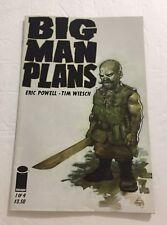 Big Man Plans #1 VF/NM; Image Comics | save on shipping