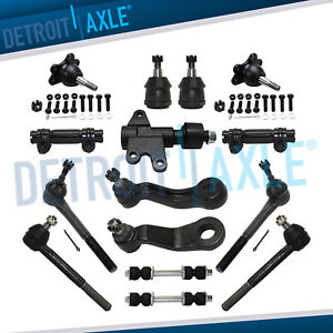 Front Brand New 15pc Suspension Kit for Chevy C1500 & Tahoe GMC C2500 Yukon 2WD