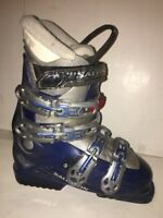 Womens Salomon Irony 8  Downhill SKI BOOTS 287mm 24.0 Mondo Women's 6.5 Blue
