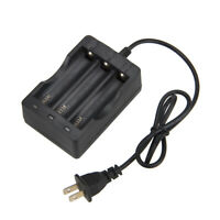 3 Slots AU Plug Charger Li-ion Battery 3x 18650 For Flashlight Torch Headlamp
