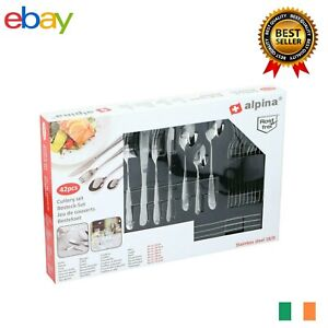 Set 42 Cutlery Stainless Steel 18/0 Alpina