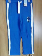 Boys blue jogging bottoms size 7 to 8 f and f