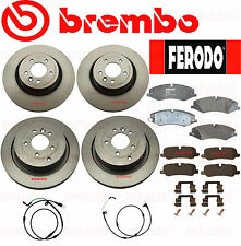 BREMBO Rotors +  FERODO Pads Range Rover Sport 5.0 Natural Aspirated 10-13