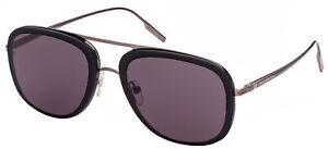Ermenegildo Zegna EZ0187 Black/Grey 62/13/140 unisex Sunglasses