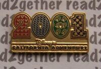 Disney Pin DCA Gold 2001