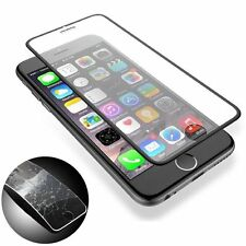 Cool Black Tempered Glass For iPhone 6 6s Slim Full Covered Screen Protector