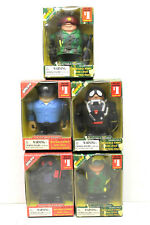 5 pc Quepy World Peacekeepers Military Special Unit & Rescue Figures Collectible