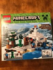 LEGO Minecraft 21120 The Snow Hideout - Brand New