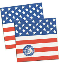 20 PKT USA AMERICAN FLAG PAPER NAPKINS 4th July Party Tableware Decoration 29652