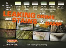 LIFECOLOR Leaking Grime Matt - Stains & Damp Satin Glossy Diorama Acrylic Set