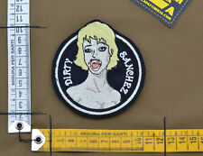 "Ricamata / Embroidered Patch ""Dirty Sanchez Sex"" with VELCRO® brand hook"