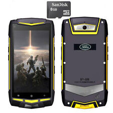 "8GB 5"" FDD-LTE 4G/3G Discovery V1M Rugged Android Phone Waterproof Smartphone V8"