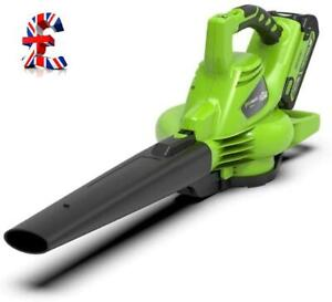 QUALITY Cordless Leaf Blower and Vacuum 2in1 LiIon 40 V 280